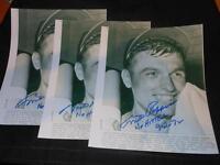 Orioles Milt Pappas Signed Vintage 8x10 Autograph No Hitter Wire Photo #2 JB5