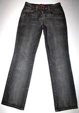 Hugo Boss Red Label Women's Factory Faded Black Gray Jeans HW44 Size 29 X 32 EUC