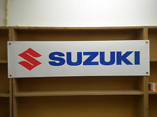Suzuki Motorcycle workshop garage pvc banner sign