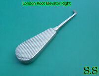6 London Root Elevator Right Surgical Dental Instruments
