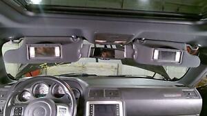 08-14 Dodge Challenger Interior Sun Visors (Pair Left/Right) Illuminated