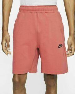 Nike Tech Fleece Shorts Size Small Pueblo Red Sportswear CJ4284-603 New