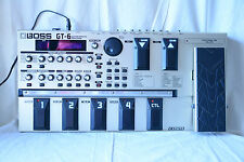 Boss GT-6 Guitar Multiple Effects Processor COSM with gig bag and Power Supply