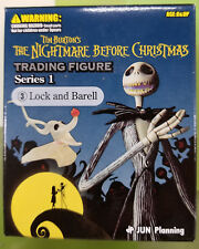 DISNEY TIM BURTON'S Nightmare Before Christmas Series 1 - LOCK AND BARELL FIGURE