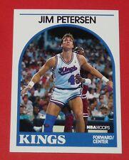 # 147 JIM PETERSEN KINGS SACRAMENTO 1989 NBA HOOPS BASKETBALL CARD