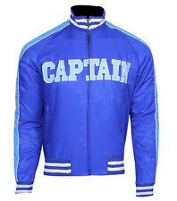 Suicide Squad Jai Courtney Capitán Boomerang Azul Varsity Chaqueta de fiesta