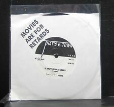 """Secret Fires / The City Streets - Movies Are For Retards Mint- 7"""" 45 Canada"""