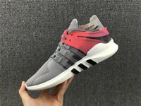 Mens Adidas Originals EQT Support ADV Sneakers New Gray Turbo Pink BB2792