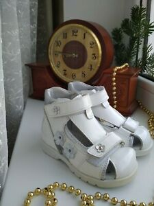 Russia New-toddler-girl-leather-totto orthopedic series - sandals sizes 19,20,21