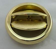 Gold round heater vent to suit new Kenworth, Custom Car, Hotrod, Show car, Ute