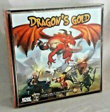 Dragon's Gold Card Game Tense Negotiation Bruno Faidutti IDW NEW Factory Sealed