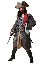 Mens PIRATE GLOVES LEATHERLOOK Accessory for Buccaneer Sailor Jack Blackbeard Fancy Dress 1Size Adults Male