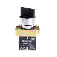 10A 600V 3 Position 2NO Maintained Toggle Select Selector Switch XB2-BD33CSC