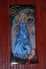 "Alice Through The Looking Glass-Alice In Wonderland Tim Burton Disney 12"" Doll"