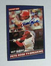 2013 Leaf Memories 1985 Buyback Pete Rose Signed AUTO #ed /14