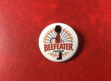 Pin Button Badge LONDON BEEFEATER. Metal