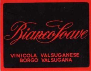 Bianco Soave. Vinicola Valsuganese - Borgo Valsugana.