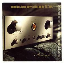 MARANTZ - THE AUDIOPHILE 1998 - 1999 RANGE    ESPAÑOL   ORIGINAL CATALOG