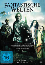 Fantastische Welten - 2 DVD Box NEU / OVP - 4 Fantasy Filme - Dragon & Saga