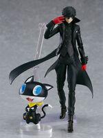 16CM Figma 363 Persona 5 P5 Shujinkou and Morgana Joker Action Figurine Statue