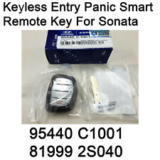 NEW OEM FOB Keyless Entry Panic Smart Remote Key 1SET for Hyundai Sonata 15-17
