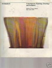 CONTEMPORARY PAINTINGS DRAWINGS SCULPTURE 1982 MAY ART