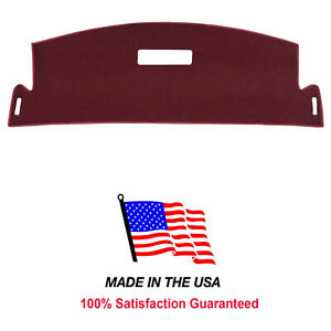 Burgundy Carpet Dash Cover Compatible w/ 1993-1998 Cadillac Fleetwood  CA1-10.5