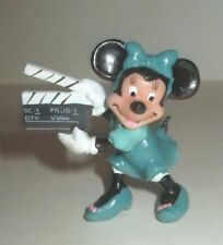DISNEY MINNIE MOUSE APPLAUSE PVC FIGURE FIGURINE WITH MOVIE CLAPBOARD HONG KONG