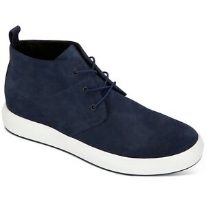 Kenneth Cole New York Mens The Mover Casual Chukka Boot Navy Size 10.5M New