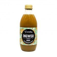 Natural Ingwer-Sirup  / Getränkesirup / Getränkekonzentrat für Schorlen und Limo