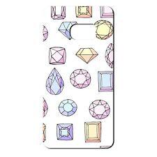 Para Samsung Galaxy S6 Silicona Funda Bling Diamantes Rosa Violeta Amarillo-S660