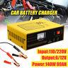 Vehicle Car Battery Charger 6V 12V Full Automatic Intelligent Negetive Pulse