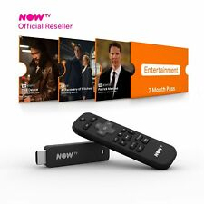 NOW TV Smart Stick with HD & Voice Search with 2 Month Entertainment Brand New