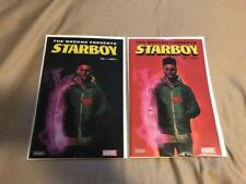The Weeknd Starboy Limited Edition Marvel Comic Book Vol. 1 sold out Both Covers