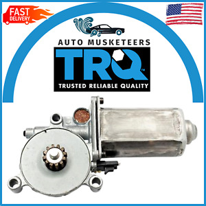 TRQ Window Power Motor WMA09525 For Buick Cadillac Chevrolet 1500 Pickup Truck