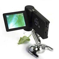 500X 3inch LCD Magnifier Handheld Digital Microscope 5 Languages USB/AV X-TOP