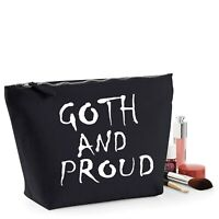 Gothic Goth Funny Gift Women's Make Up Accessory Bag