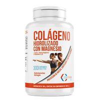 Colágeno Marino Hidrolizado Vitamina C y D  Minerales Magnesio  Calcio 300 Comp