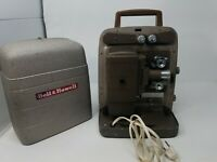 Vintage Bell & Howell 253 AX 8MM Film Projector TESTED & WORKS