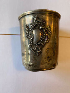 timbale en Argent de 69 grammes Poinçon EC