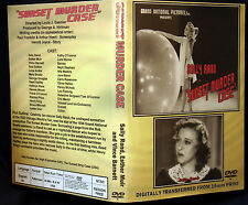 SUNSET MURDER CASE - DVD - Sally Rand, Reed Hadley