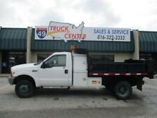 2000 Ford F-450 4X4 9' Dump Truck