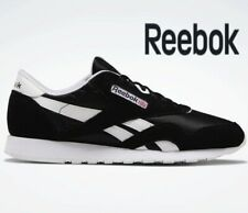 ⚫ 2019 Authentic REEBOK CLASSIC NYLON ® ( Men Size UK 7.5 EUR 41.5 ) Black White