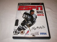 ESPN NHL 2K5 (Playstation PS2) Complete LN Perfect Condition Nr Mint!