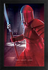 STAR WARS THE LAST JEDI THE GUARD 13x19 FRAMED GELCOAT POSTER EPISODE XIII GIFT!