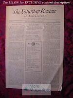 SATURDAY REVIEW August 24 1929 Elizabeth C. Morrow Gorham B. Munson Allan Nevins