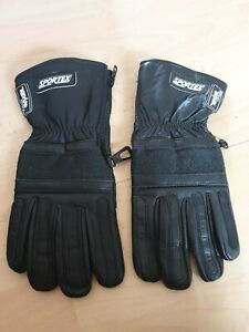 Sportex Ladies Leather Motorcycle Gloves With Kev-lar, Size 8. BNWOT