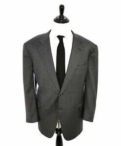 $5,395 BRIONI - Charcoal 2-Button NM NOMENTANA Hand Made In Italy Blazer- 52R US