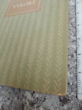 A GOOD SWEDISH  BLANK POSTCARD ALBUM FOR OLD SIZED CARDS CIRCA 1950  RING BOUND