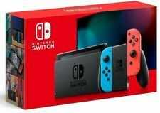任天堂 Nintendo Switch 電池持續時間加長版遊戲主機 紅藍色 香港行貨